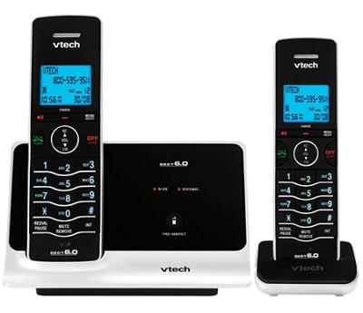 LS6215-2 - DECT 6.0 Expandable 2-Handset Cordless Phone System