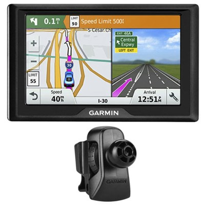 Drive 50 GPS Navigator (US) - 010-01532-0D w/ Garmin Air Vent Mount