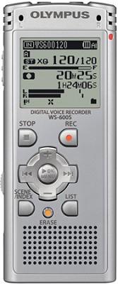 WS-600S Digital Voice Recorder (Silver) REFURBISHED - OPEN BOX