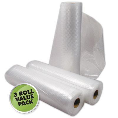 Vacuum Sealer Roll 3Pk 11`x18'