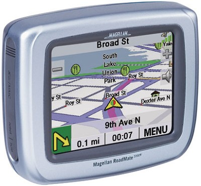 Roadmate 2200T Portable Car GPS Navigation System