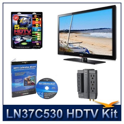 LN37C530 - HDTV + High-performance Hook-up Kit + Power Protection + Calibration