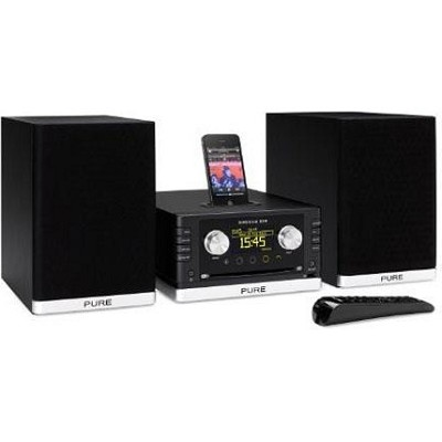 Sirocco 550 Micro Hi-fi with Internet and FM Radio, CD and Dock for iPod/iPhone