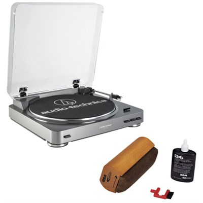 AT-LP60 Turntable With RCA Turntable Cleaning System
