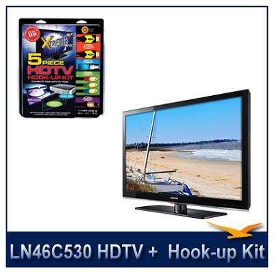 LN46C530 - 46` HDTV + High-performance HDTV Hook-up & Maintenance Kit