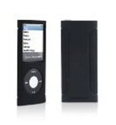 Sport Grip Case for Apple iPod nano 4G, Black