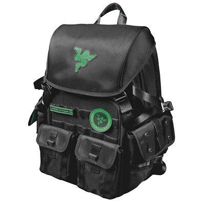 17` Razer Pro Tactical Black Backpack - RAZERBP17