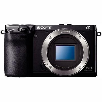 NEX7/B - NEX-7 24.3 MP Camera Body (Black) - OPEN BOX