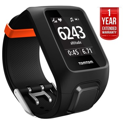 Adventurer GPS Cardio Watch w/ MP3 Player and Bluetooth + EXTENDED WARRANTY