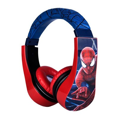 Spiderman Kid Safe Over the Ear Headphone with Volume Limiter - 30344-TRU