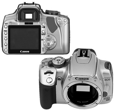 EOS Digital Rebel XTi Body  (Silver) - Lens Not Included