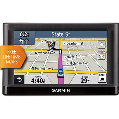 nuvi 52LM 5` GPS Navigation with Lifetime Map Updates (Certified Refurbished)