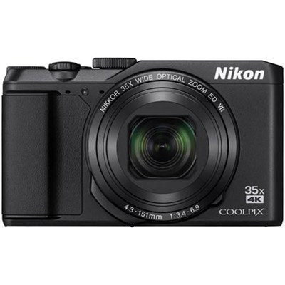 COOLPIX A900 20MP HD Digital Camera w/ 35x Optical Zoom & Built-in Wi-Fi - Black