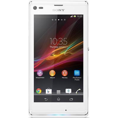 Mobile Xperia L C2104 Smartphone - Wi-Fi - 3.9G - Bar - White