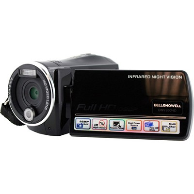 DNV900HD Camcorder 1080p Infrared HD 16MP 3.0 LCD Night Vision Motion Detection
