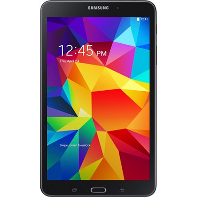 Galaxy Tab 4 Black 16GB 8` Tablet - 1.2 GHz Quad Core Proc, Android 4.4, Kit Kat