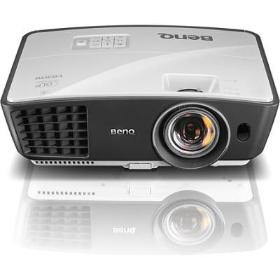 W770ST Short Throw 3D 720p HD DLP Home Theater Projector (Silver) - OPEN BOX