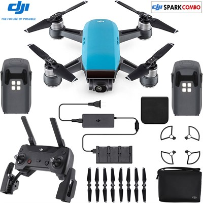 SPARK Fly More Drone Combo Sky Blue - CP.PT.000902 (OPEN BOX)