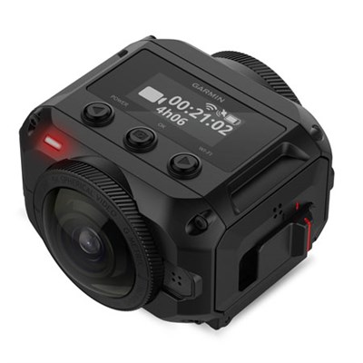 VIRB 360 Waterproof Action Camera with 5.7K/30fps Resolution (010-01743-00)
