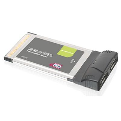 2-Port eSATA 1.5Gbps CardBus Card - GPS702