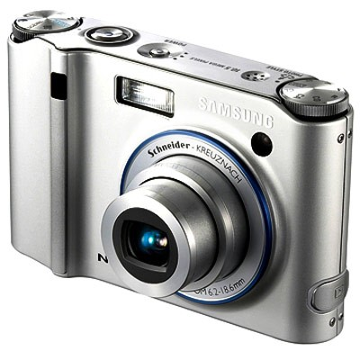NV40 10MP 2.5` LCD Digital Camera (Silver)