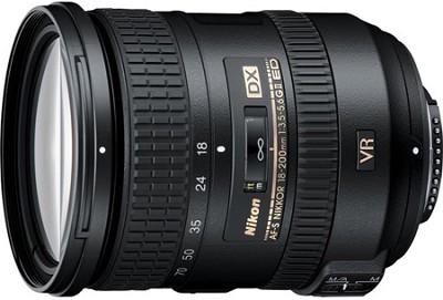AF-S DX NIKKOR 18-200mm f/3.5-5.6G ED VR II Lens (IMPORTED)