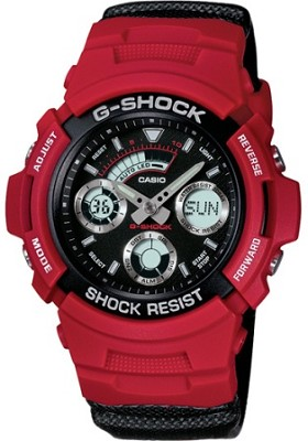 AW591RL-4A - Men's G-Shock Ana-Digi Watch - Red Vinyl