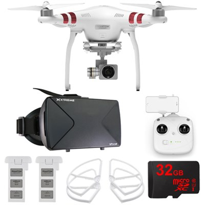 Phantom 3 Standard Quadcopter Drone + 2.7K Camera FPV Virtual Reality Experience