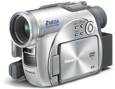 VDR-M95 DVD Camcorder W/ 10x Optical /240x Digital Zoom & 2MP -Refurbished
