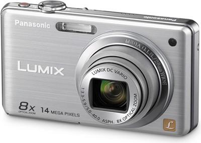 DMC-FH20S LUMIX 14.1 Megapixel Digital Camera (Silver) - Open Box