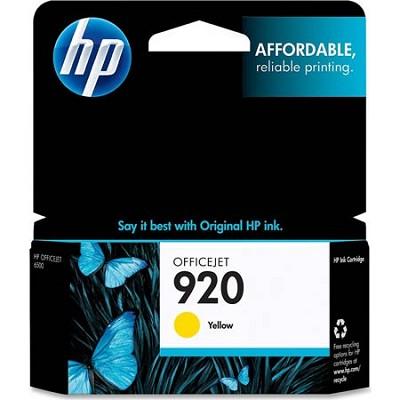 920 Yellow Officejet Ink Cartridge
