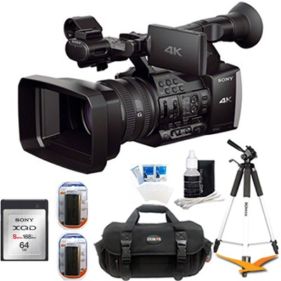 FDR-AX1 Digital 4K Video Camera Recorder Plus 64 GB Accessory Bundle