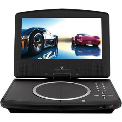 PD908B 9 inch Swivel-screen Portable Dvd Player (Black)