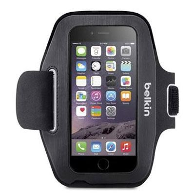Sport-Fit Plus Armband in Black and Overcast for Apple iPhone 6 - F8W500-C00