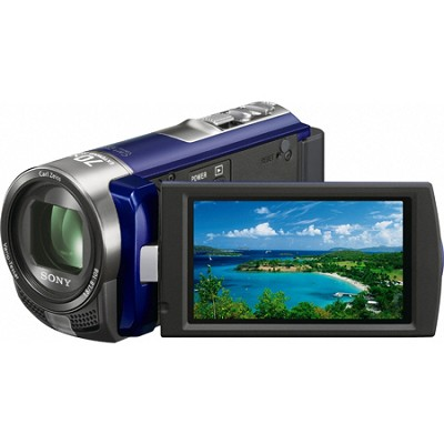 Handycam DCR-SX45 Palm-sized Blue Camcorder