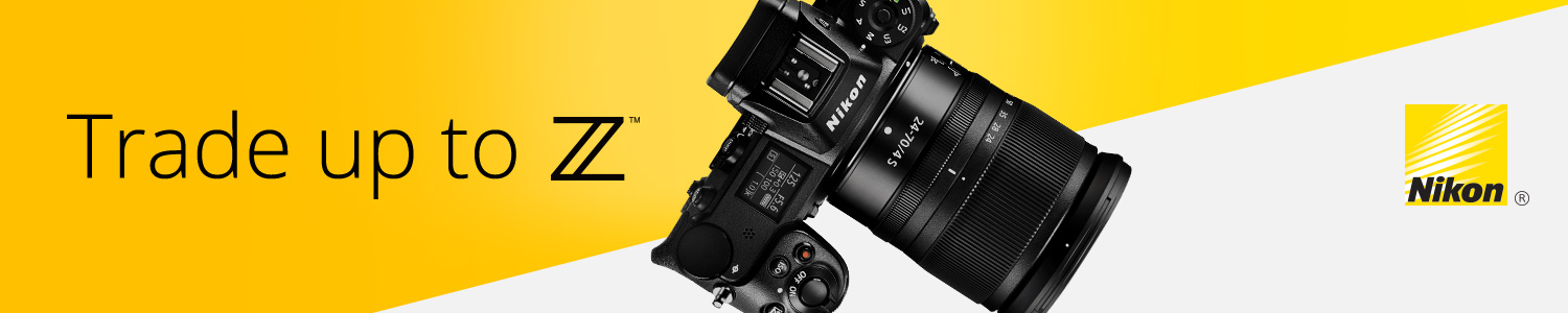 Trade Up and Save on Nikon Cameras
