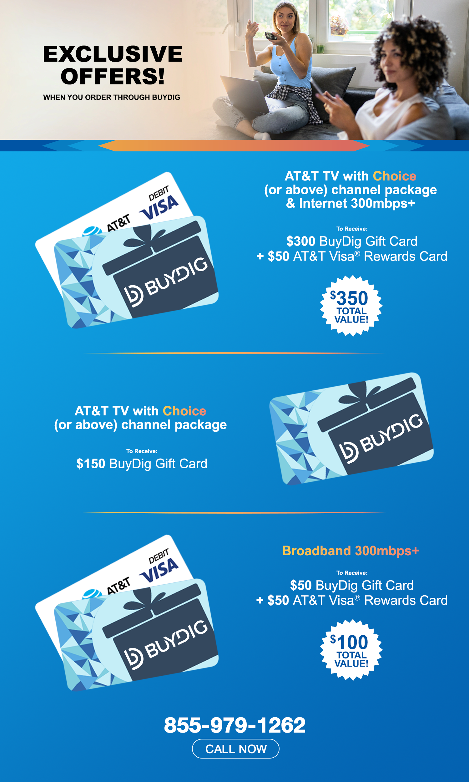 AT&T Exclusive Offers