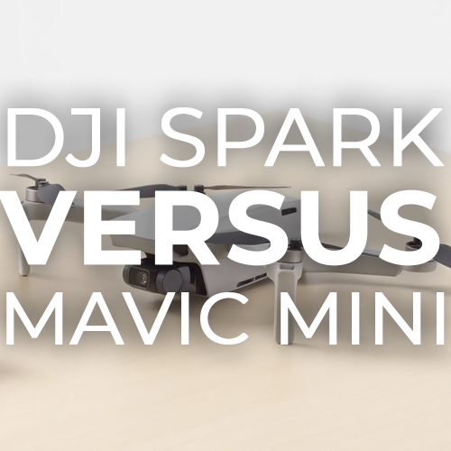 DJI Spark Vs Mavic Mini
